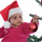 Navidad con niños adoptados