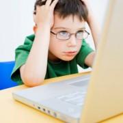 Niños estresados