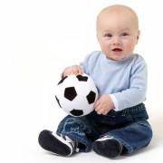 Los nombres para bebés de futbolistas están de moda.