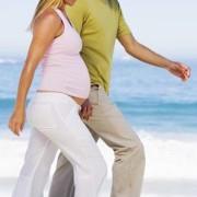 Beneficios de pasear durante el embarazo