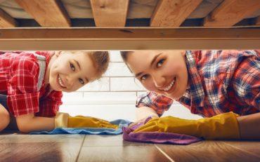 La importancia de tener la casa limpia en la salud de tu bebé